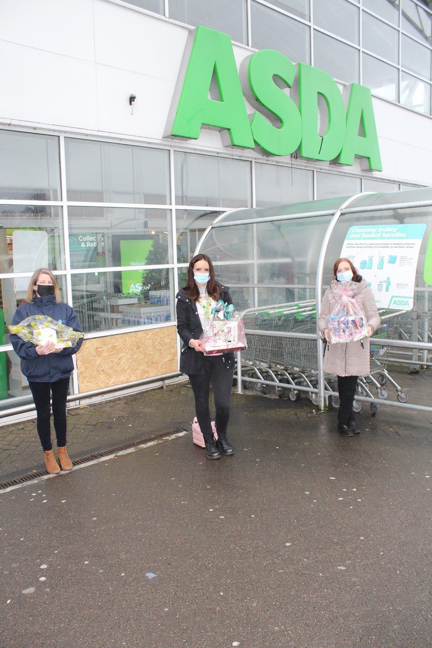 Bolton Burnden Park and Farnworth store donation to Bolton Carers Support Group.  | Asda Bolton