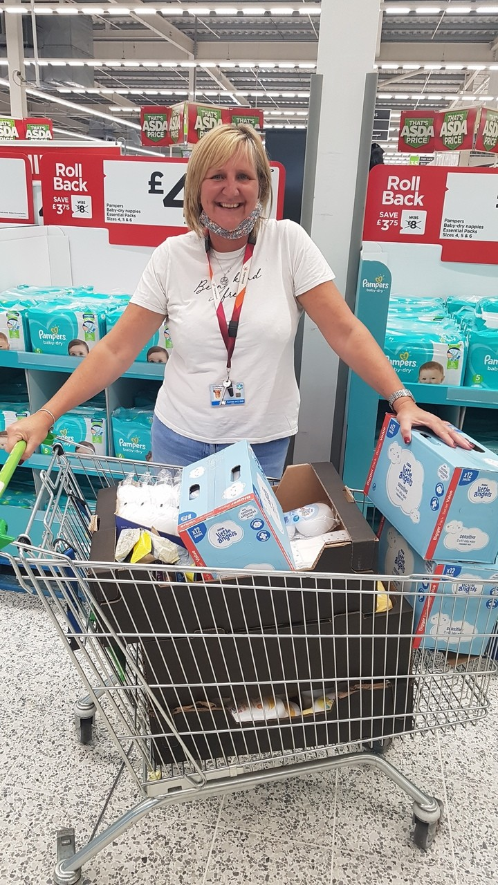 Small Steps Big Changes Baby Bank | Asda Hyson Green