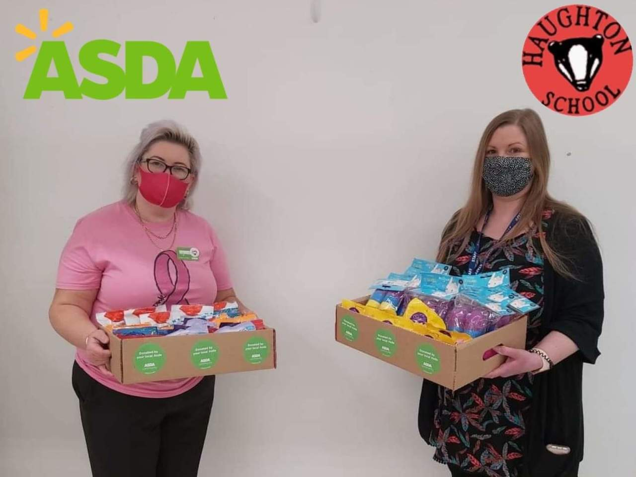 Eggscellent support | Asda Donnington Wood