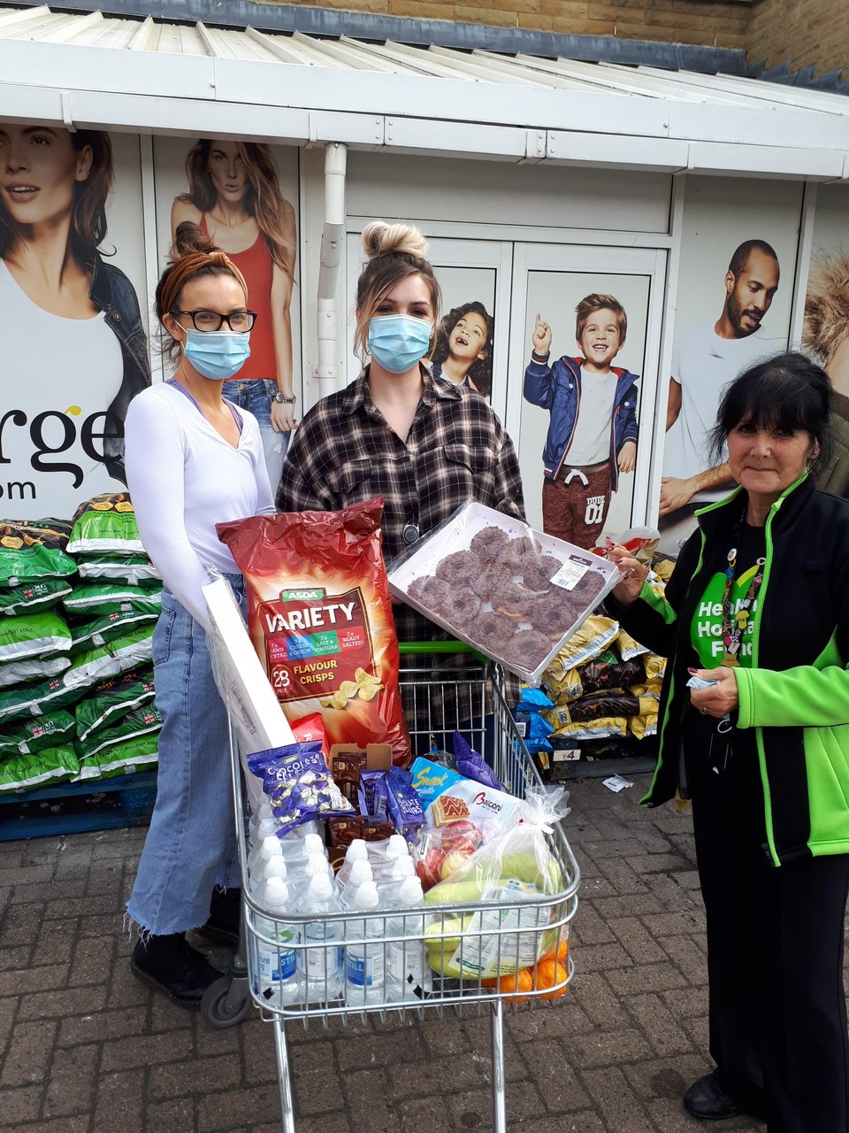 Donation to Forget Me Not Children's Hospice | Asda Huddersfield
