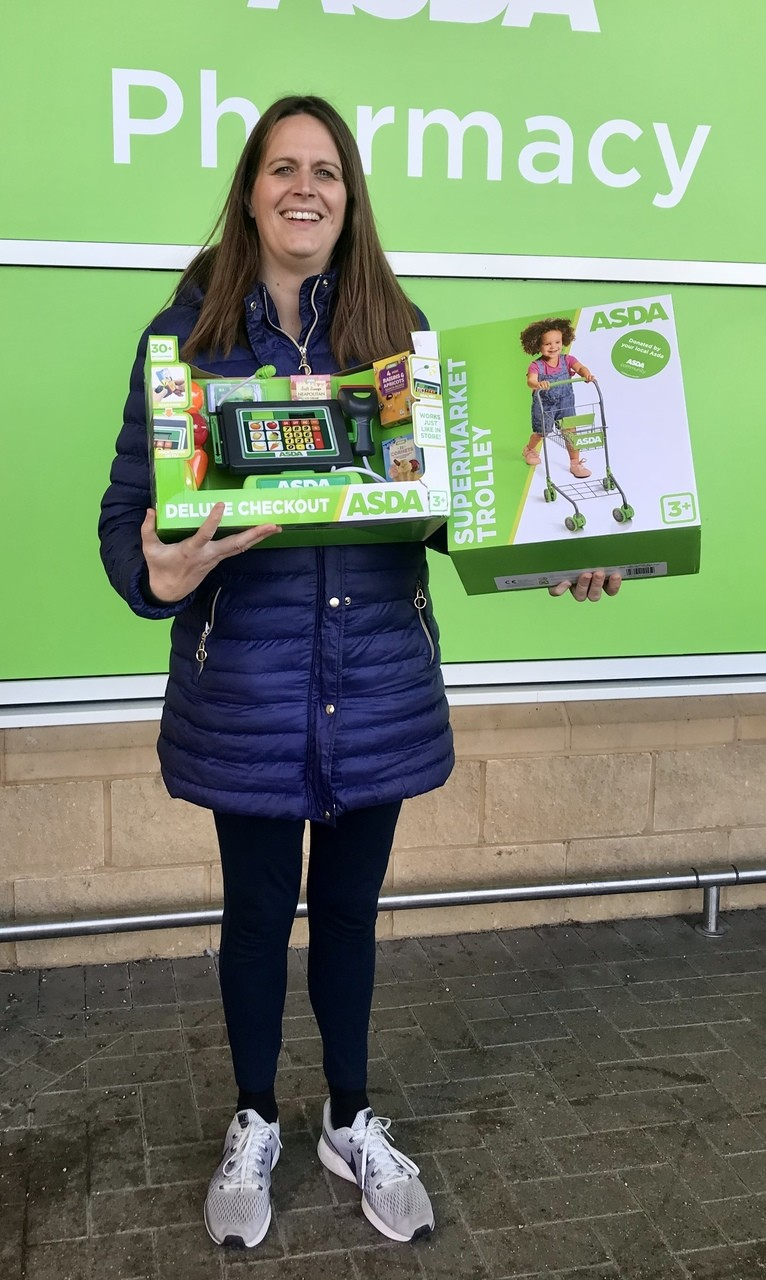 Time is Precious donation | Asda Frome