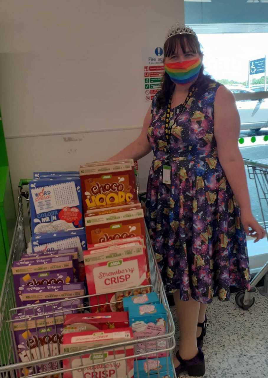 Foodbank support | Asda Fareham