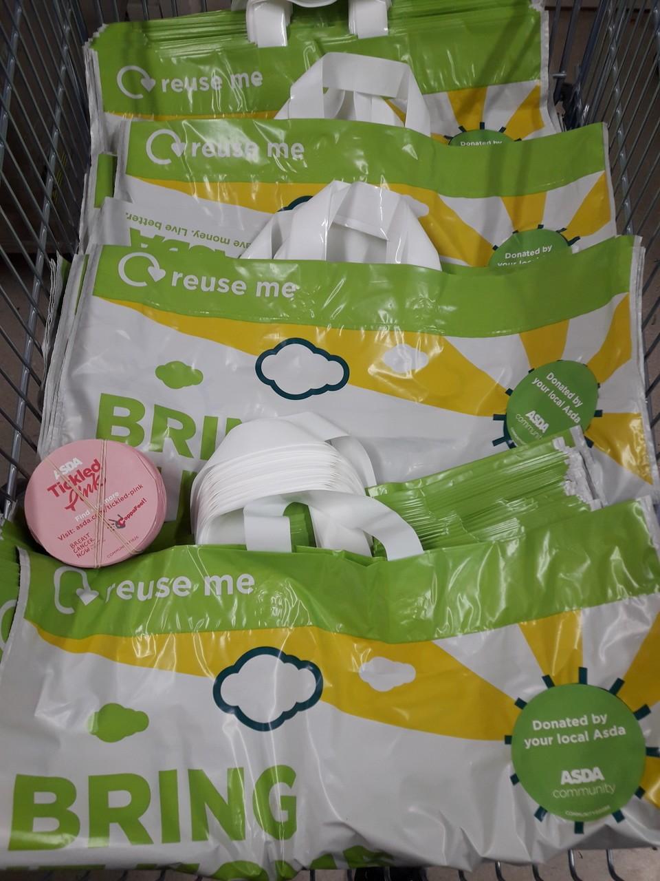 Bag for life donation | Asda Leyton Mills