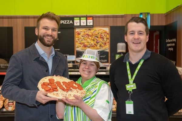 Erin Gordon has gained in confidence after getting a job at Asda Chesser