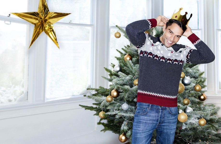 George Fashion Christmas Collection Mens Jumper