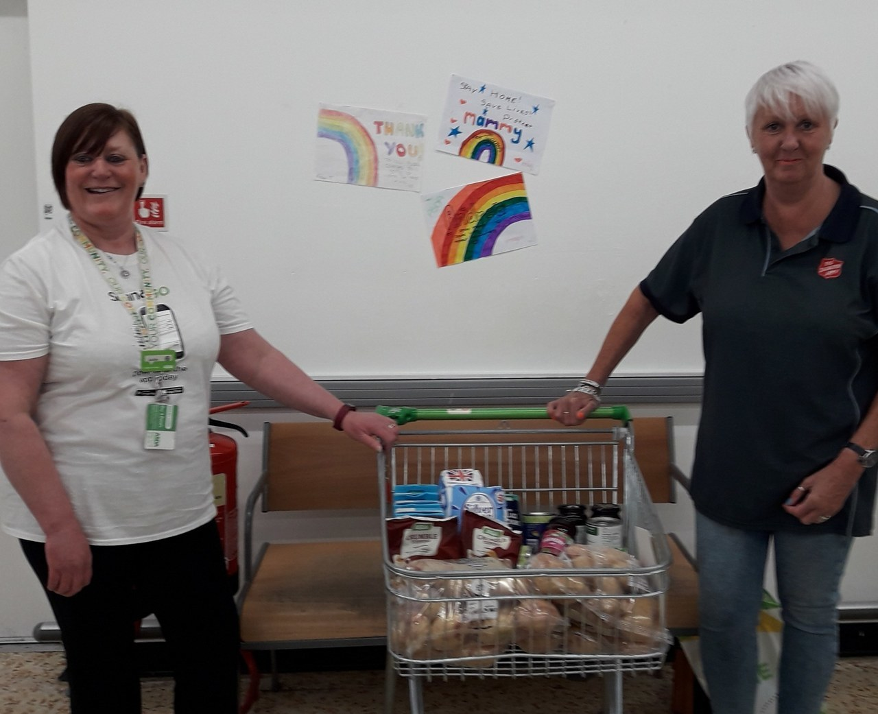 Salvation Army donation | Asda Cramlington