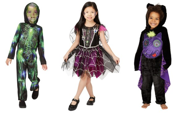 Halloween costumes from George at Asda