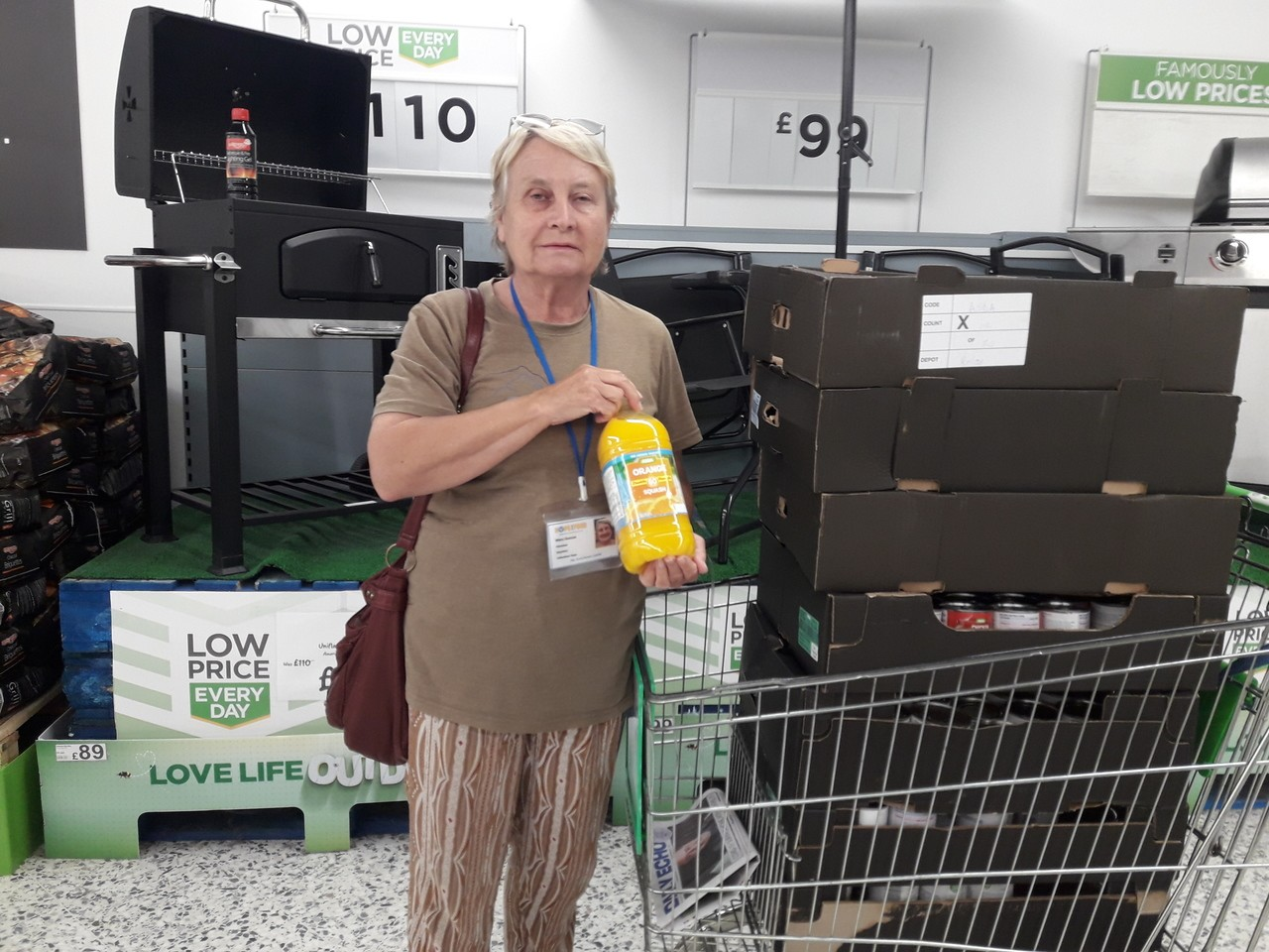 Hope For Food donation | Asda Bournemouth