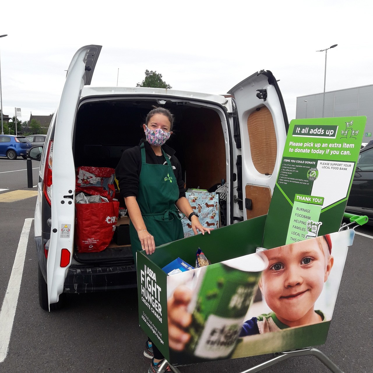 Foodbank donations | Asda Reddish