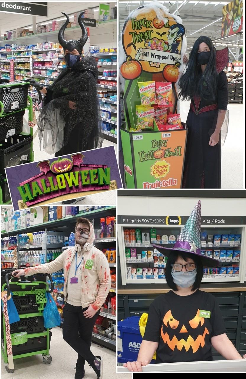Halloween fun   Asda Toryglen