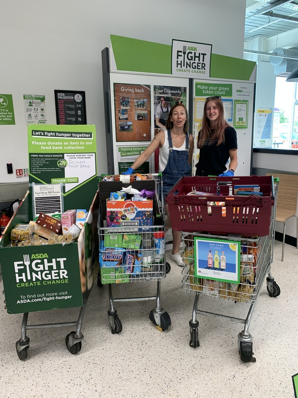 Food bank donation  | Asda Feltham