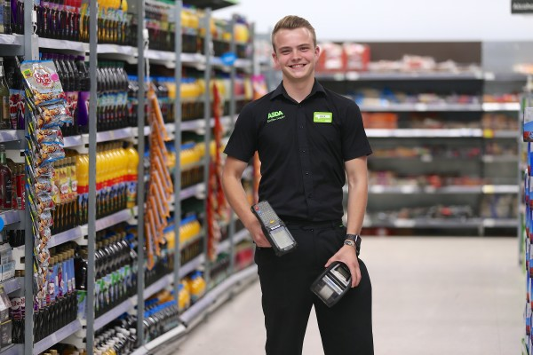 Jack Cowles at Asda Patchway is one of our youngest section leaders