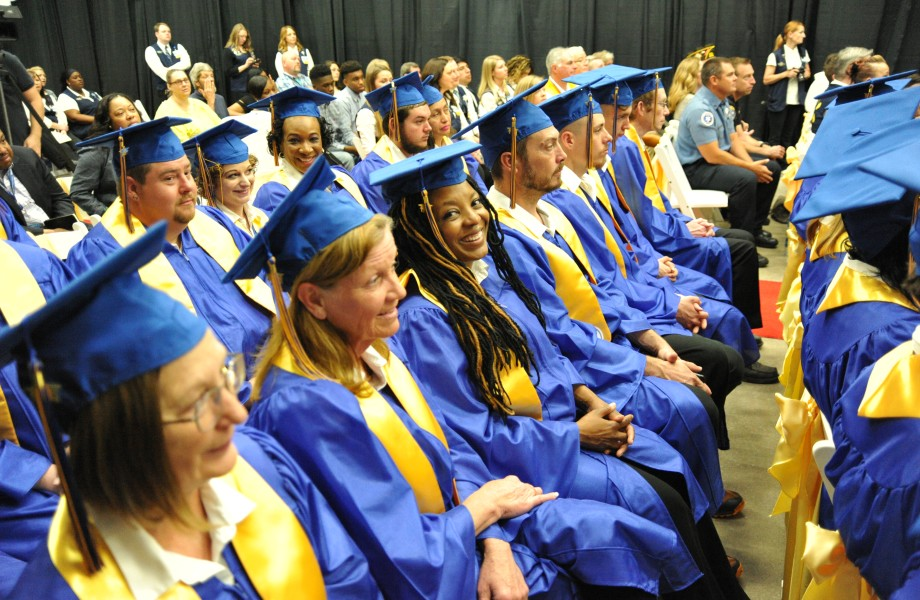 Walmart Academy Graduates during graduation ceremony