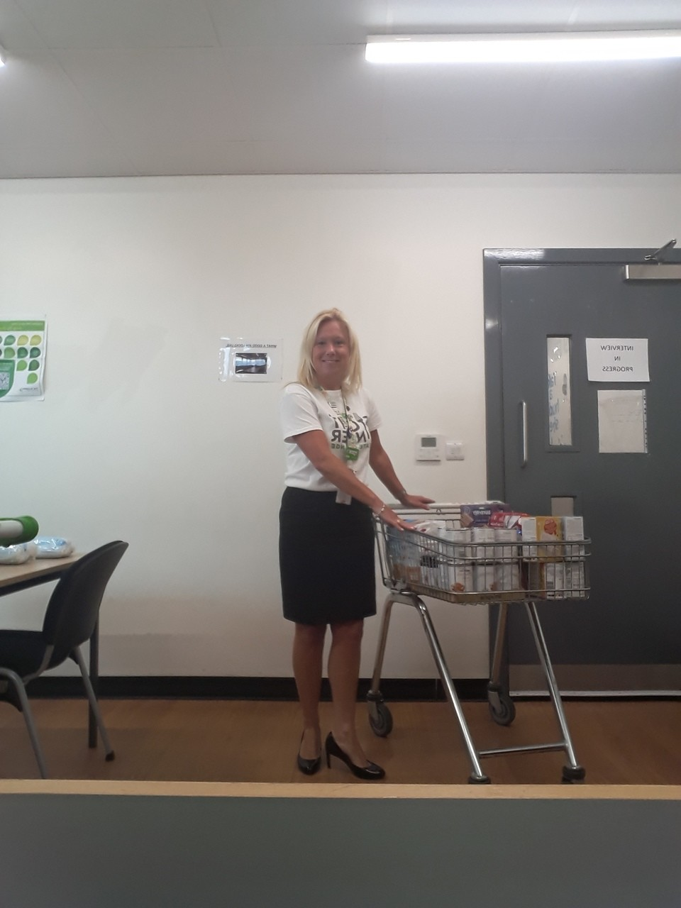 Food bank donation  | Asda Barry