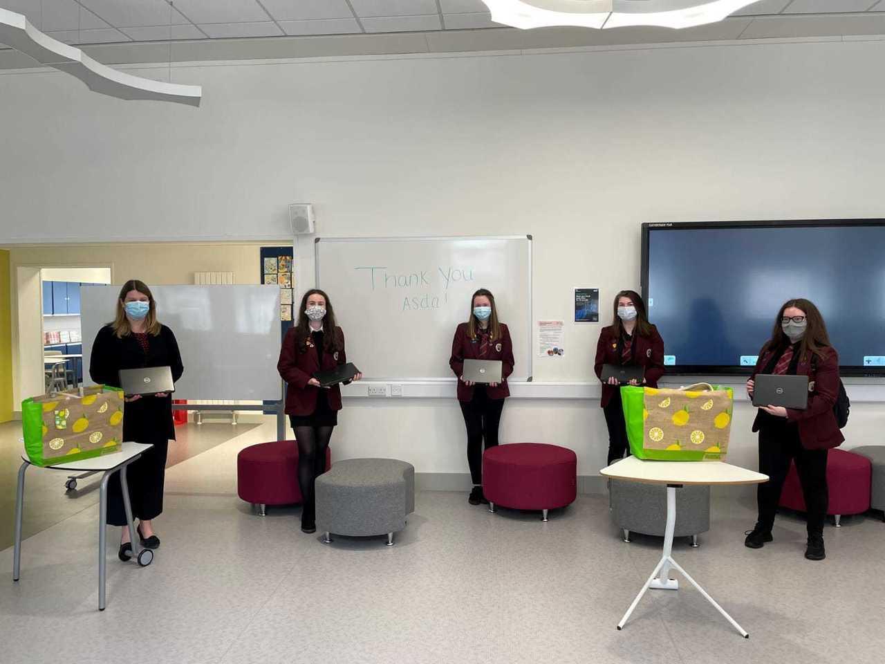 Laptops for Peterhead Academy   Asda Peterhead