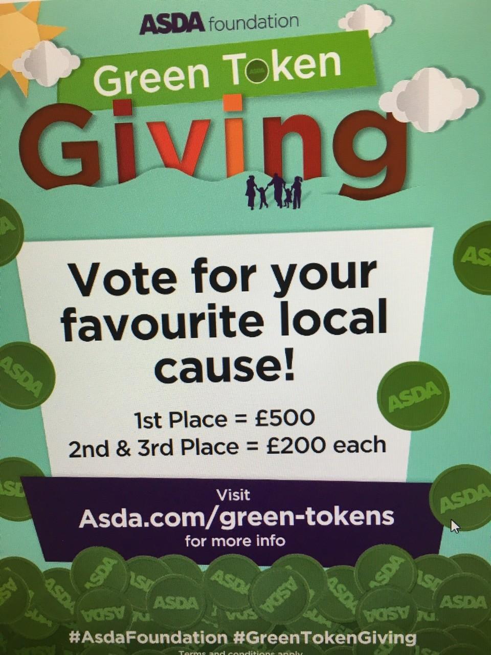 Green token giving | Asda Longwell Green