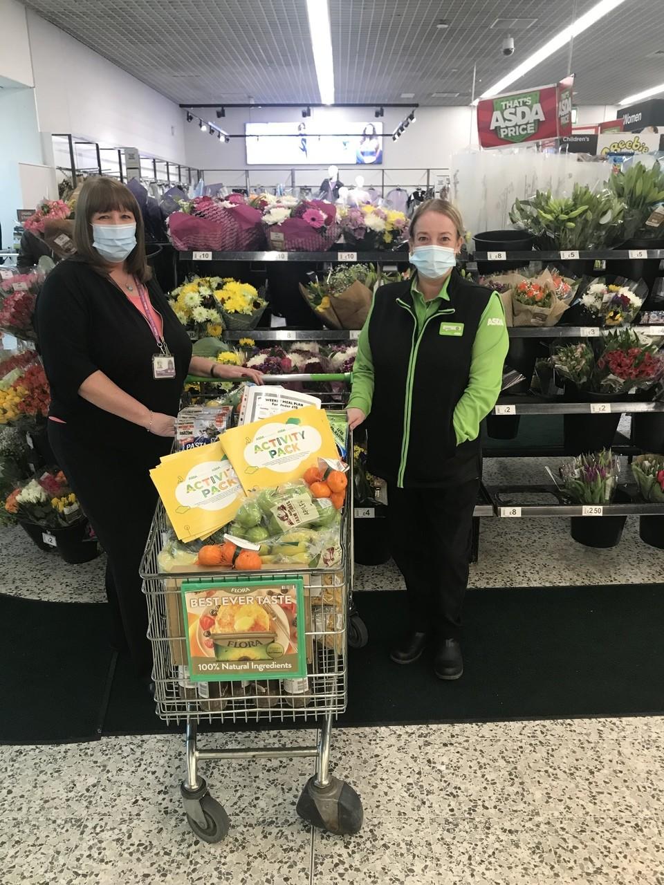 Food donation to Cedars Primary School 🍌🍎🍊 | Asda Blackburn