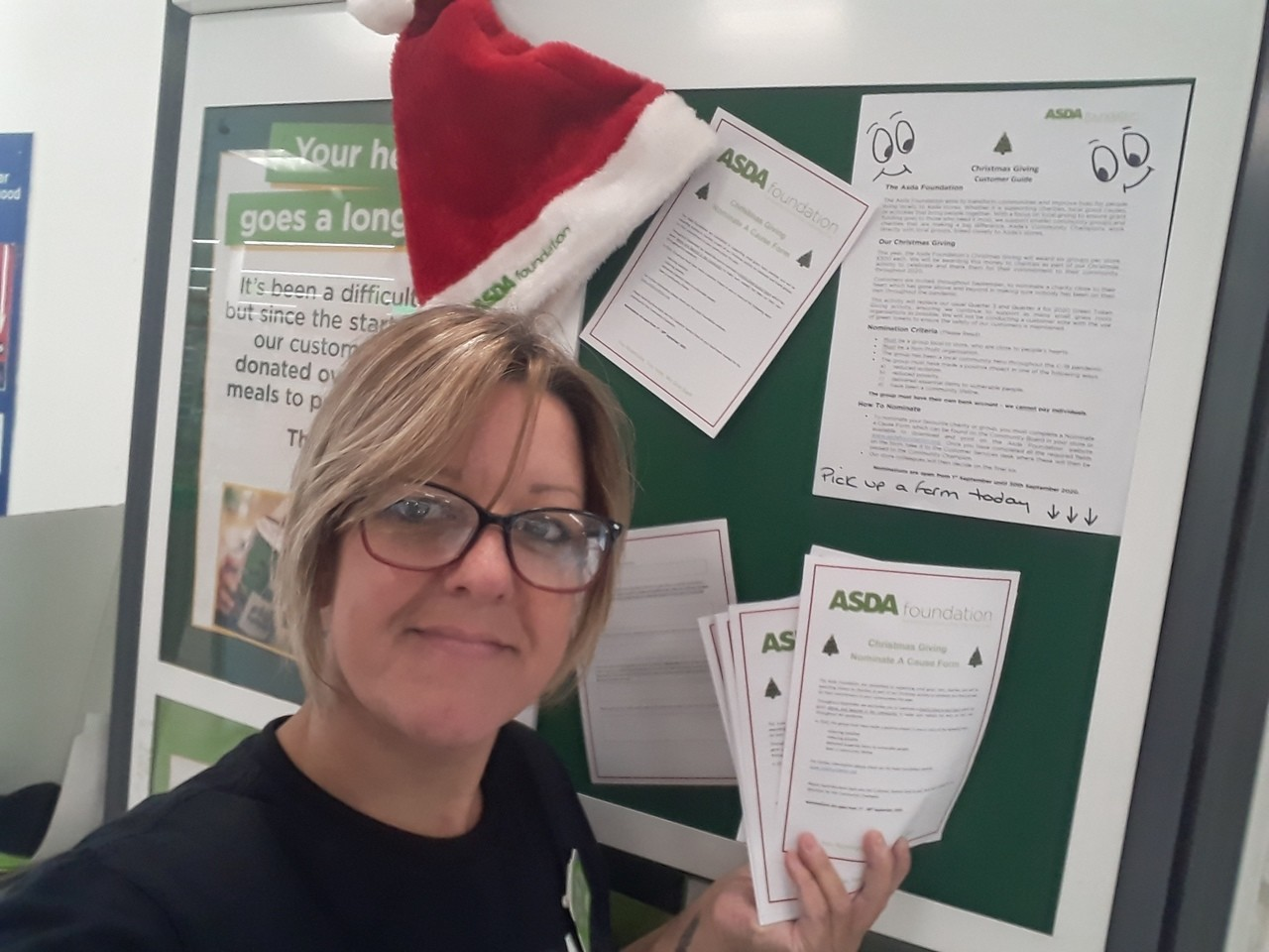 Christmas giving grants | Asda Sutton in Ashfield