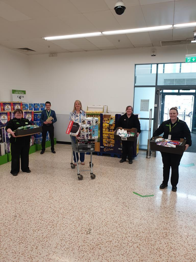 Asda Cookstown help the patients of Craigavon Hospital stay connected with their loved ones | Asda Cookstown