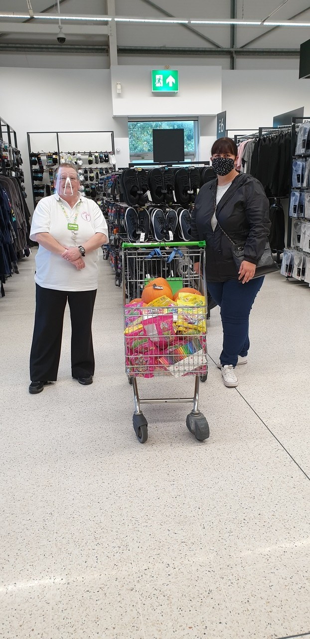 Halloween donation to Norwood Primary School | Asda Southport