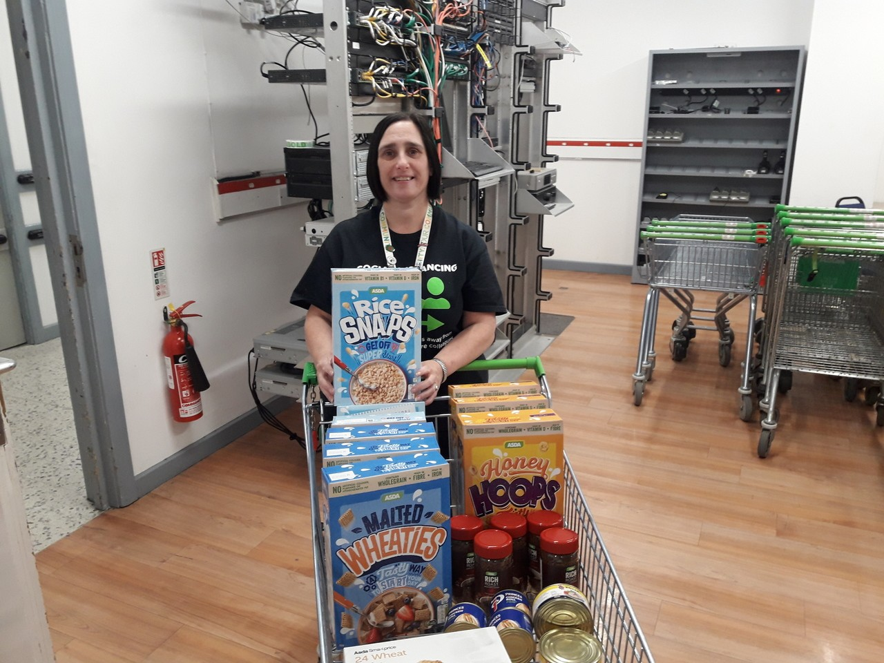Food bank support | Asda Newport