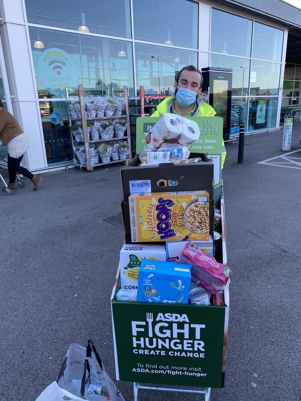 Gorseinon Foodbank donation | Asda Gorseinon