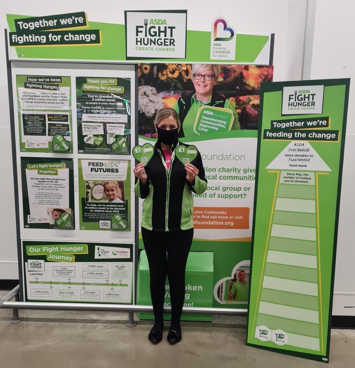 Fight Hunger Create Change   Asda Fleetwood