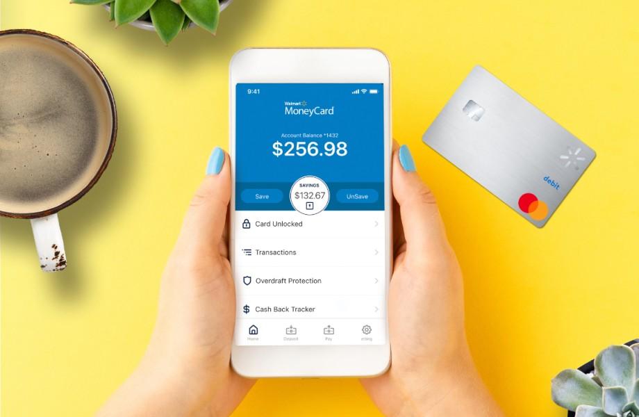 Walmart MoneyCard On Mobile Phone