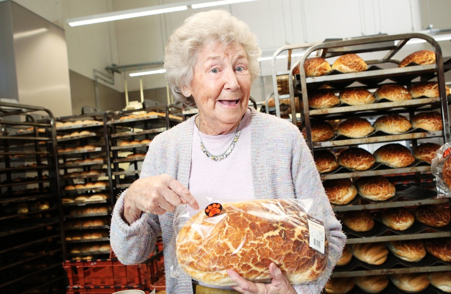 Audrey's Tiger Bread