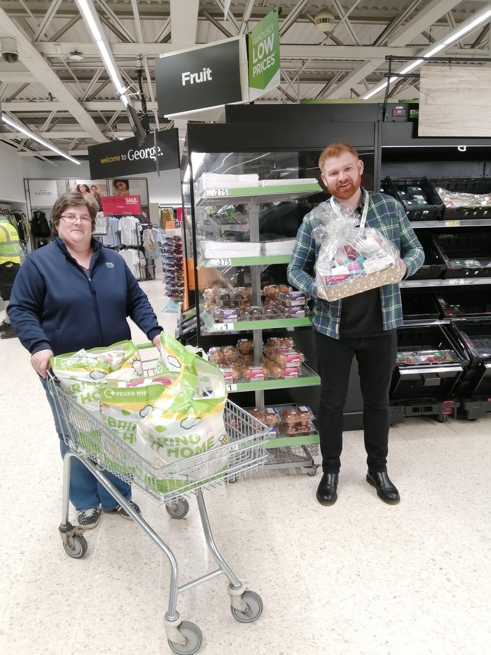 Donations for local hospital | Asda St Leonards