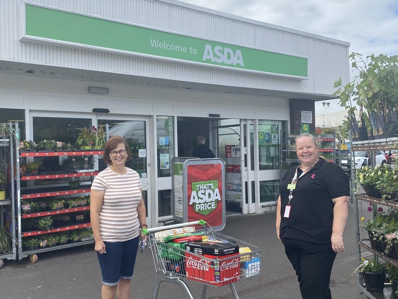 Donation to gardens | Asda Gosport