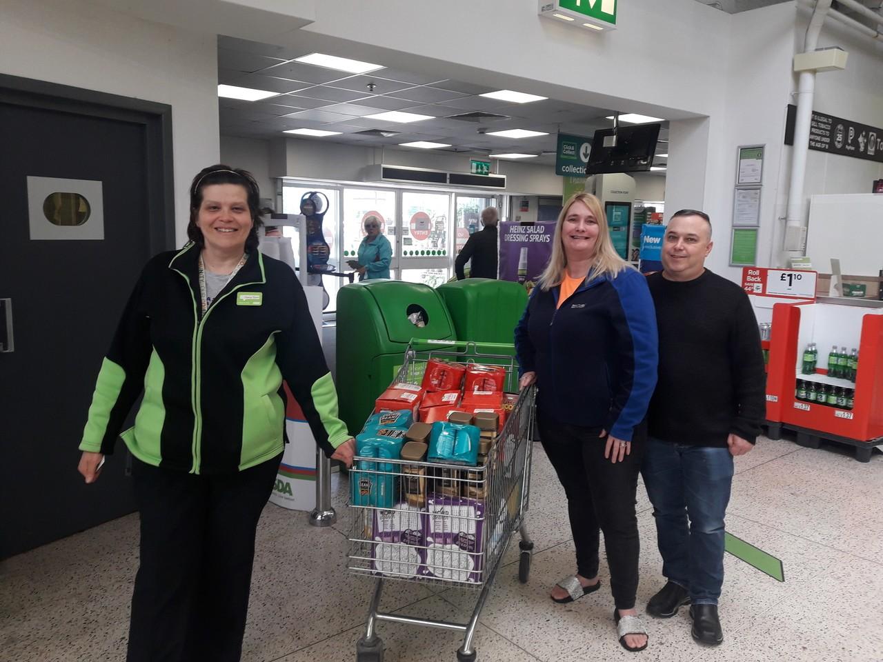 Donation toAbram Ward Community Cooperative | Asda Golborne