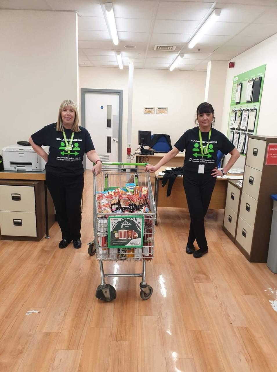 Food bank support | Asda Glasshoughton