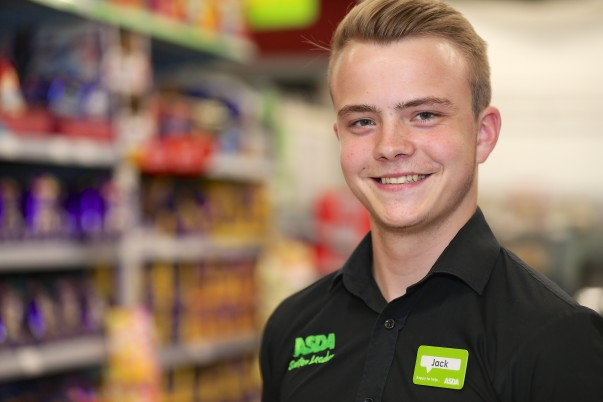 Jack Cowles from Asda Patchway  is one of our youngest section leaders