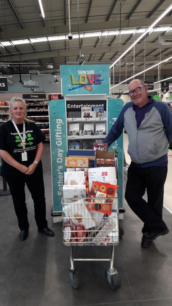 Salvation Army donation | Asda Wrexham