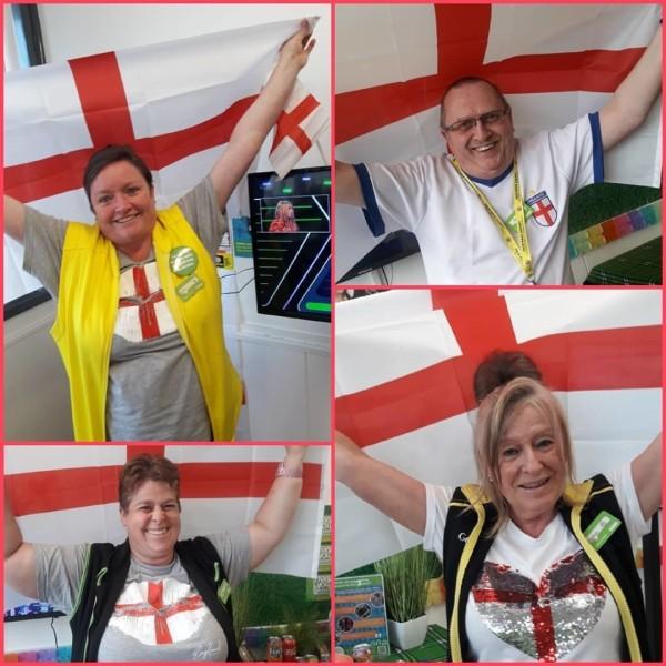 Asda Gosforth support England at Euro 2020