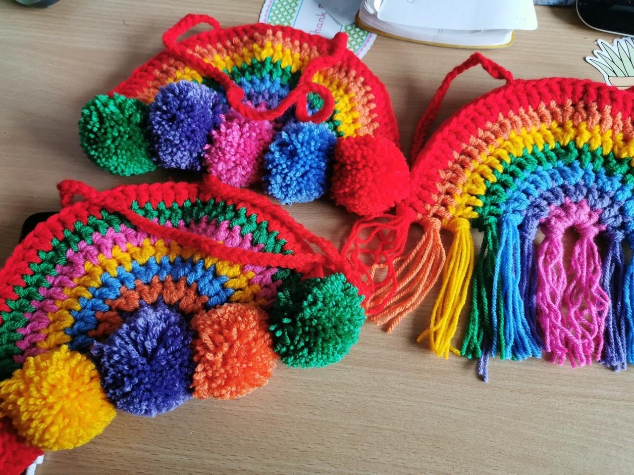 Making rainbows! | Asda Falkirk