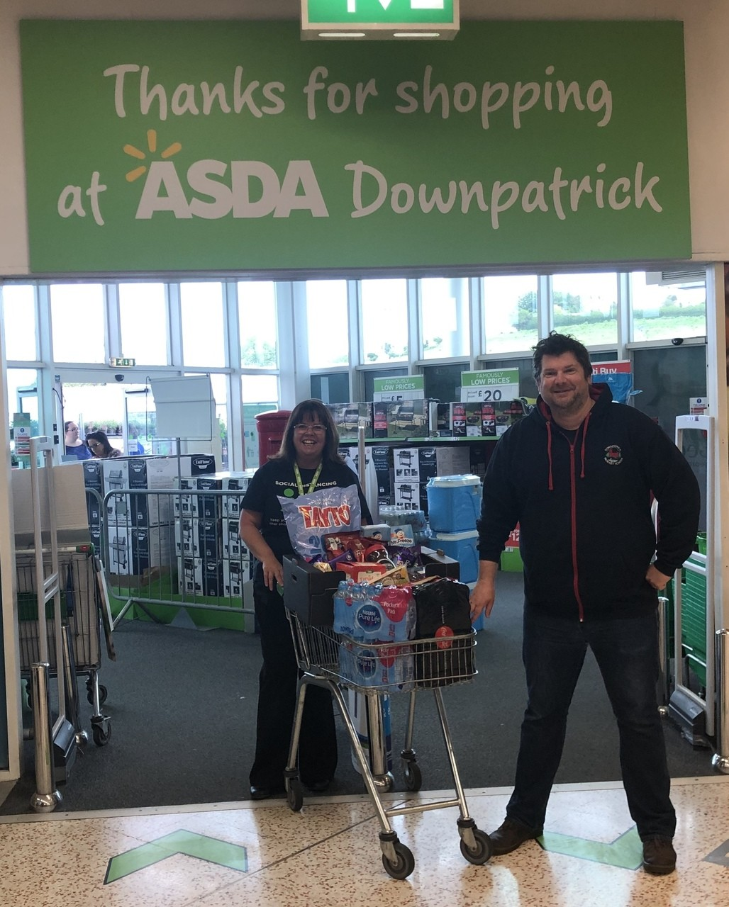 Supporting key workers children | Asda Downpatrick