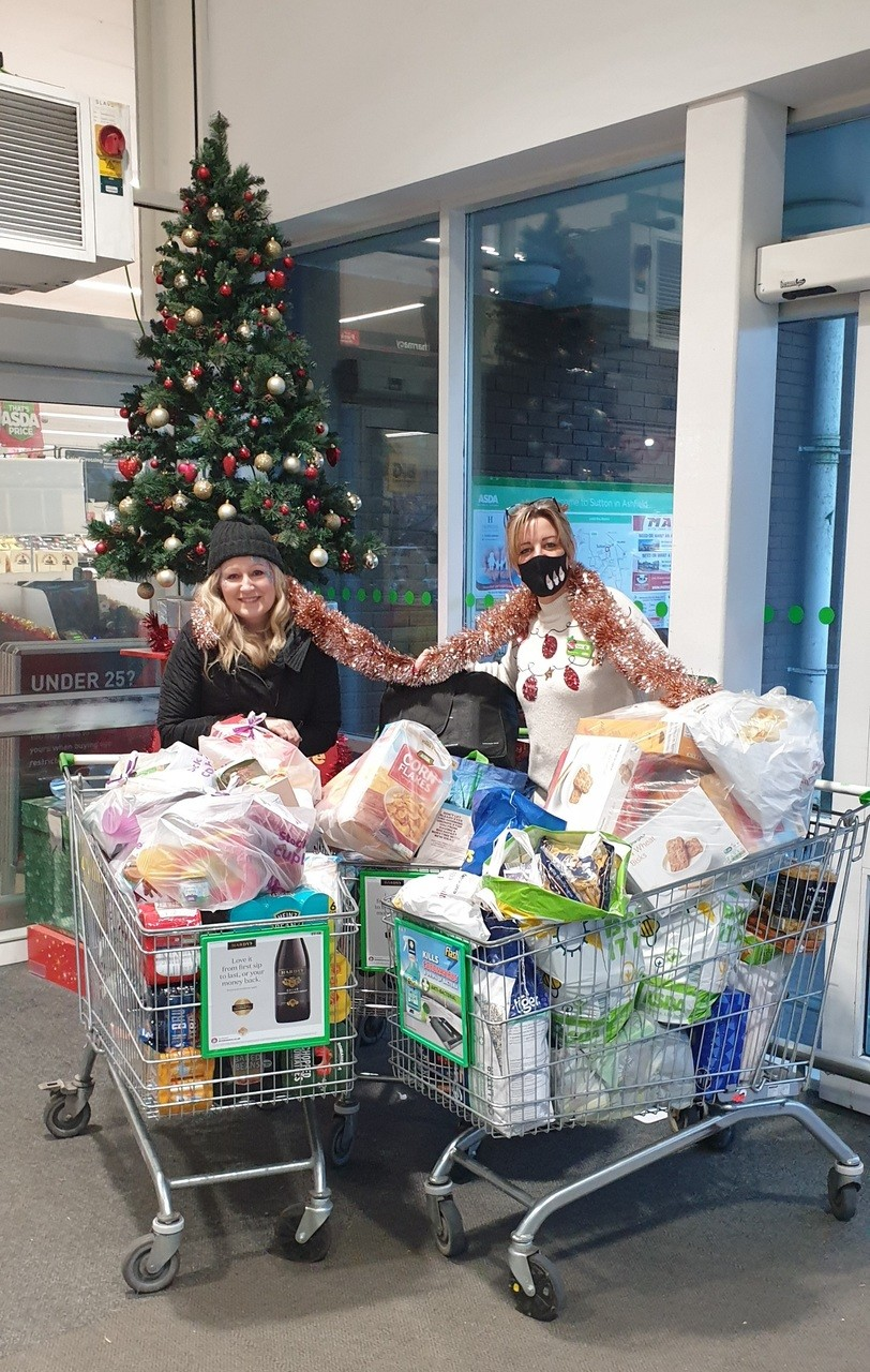 Thank you for supporting our gift appeal   Asda Sutton in Ashfield
