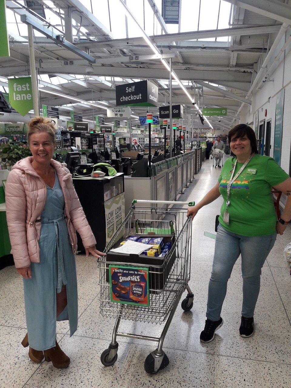 Donation to Wigan and Leigh Carers  | Asda Golborne