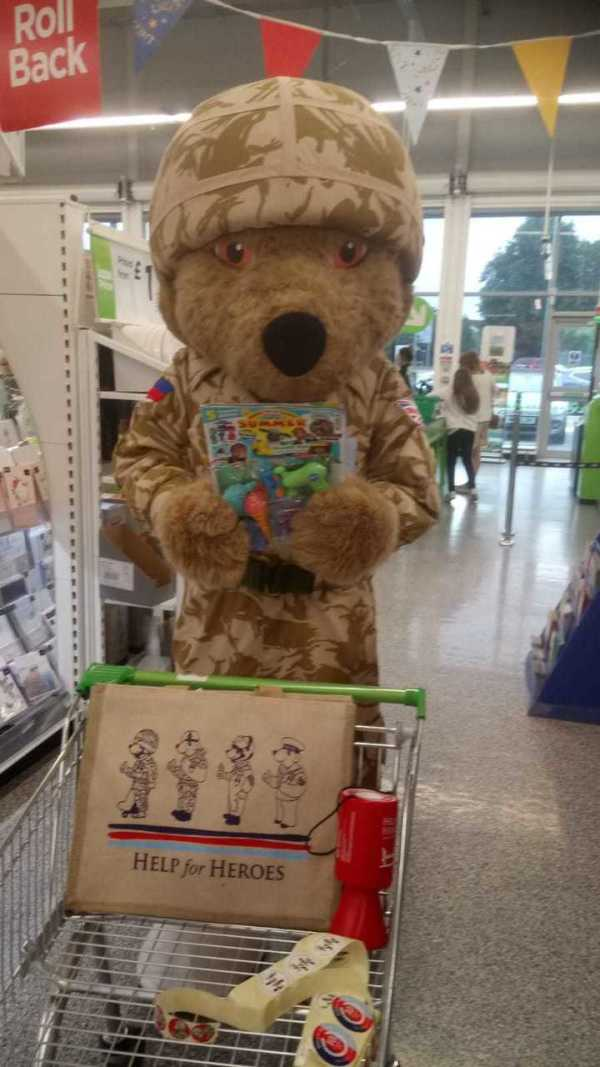 Help for Heroes at Asda Reddish