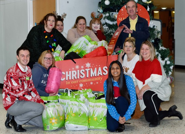 Asda donated warm supplies to Leeds Homeless Partnership