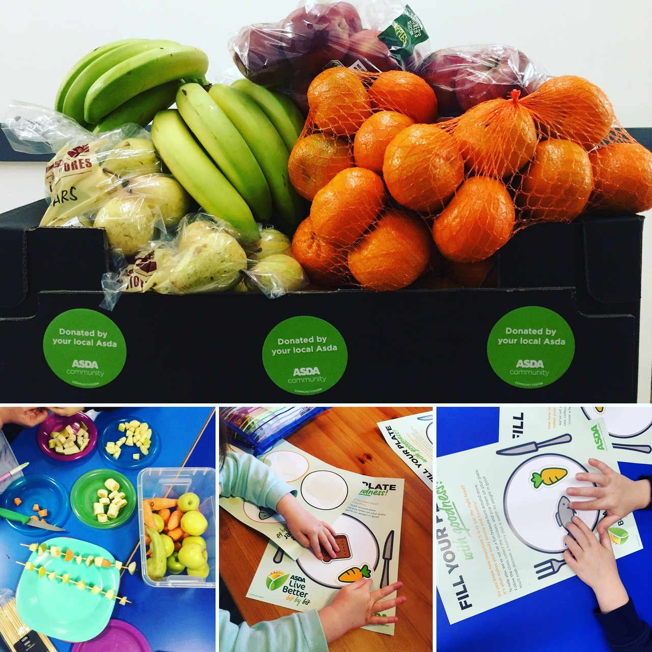 Healthy eating for Schools | Asda St Austell