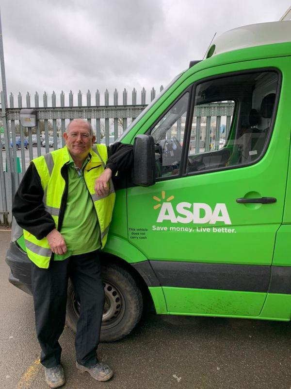 Dave Shearer from Asda Bodmin
