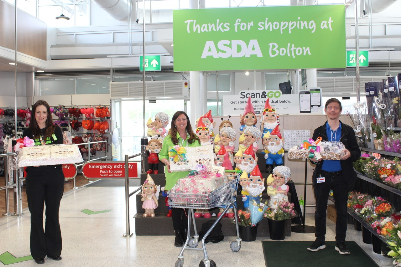 Bolton and Burnden Park donation to NHS.   | Asda Bolton