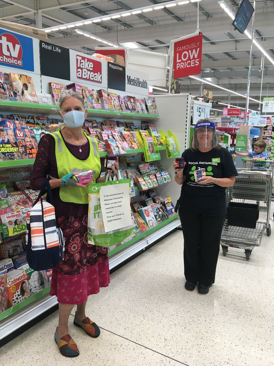Cream teas for Melksham | Asda Melksham