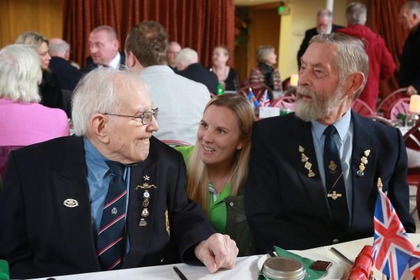 Asda Christmas party for members of Clacton-on-Sea Veterans' Breakfast Club