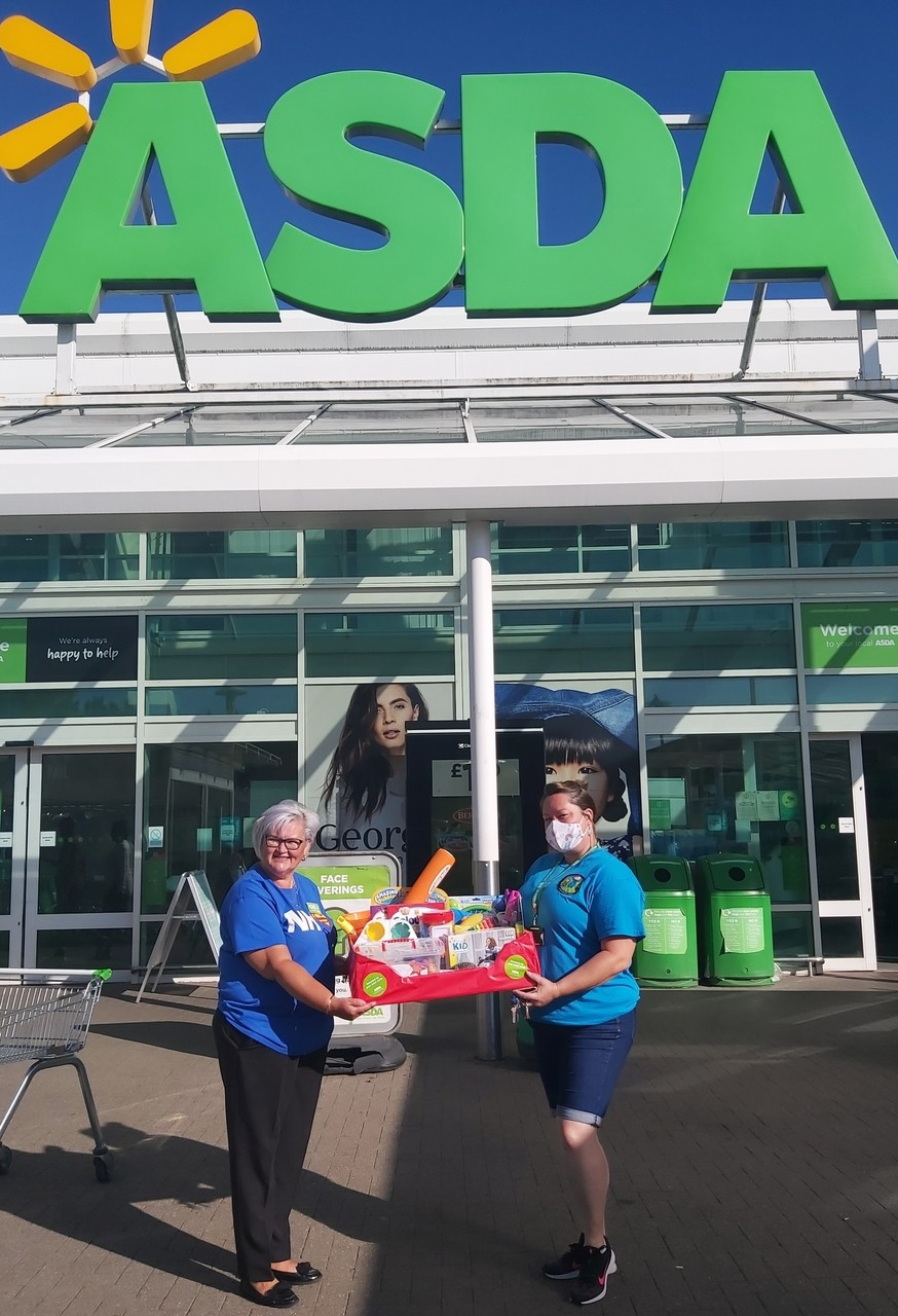 Donation from Asda Donnington Wood for local charity | Asda Donnington Wood