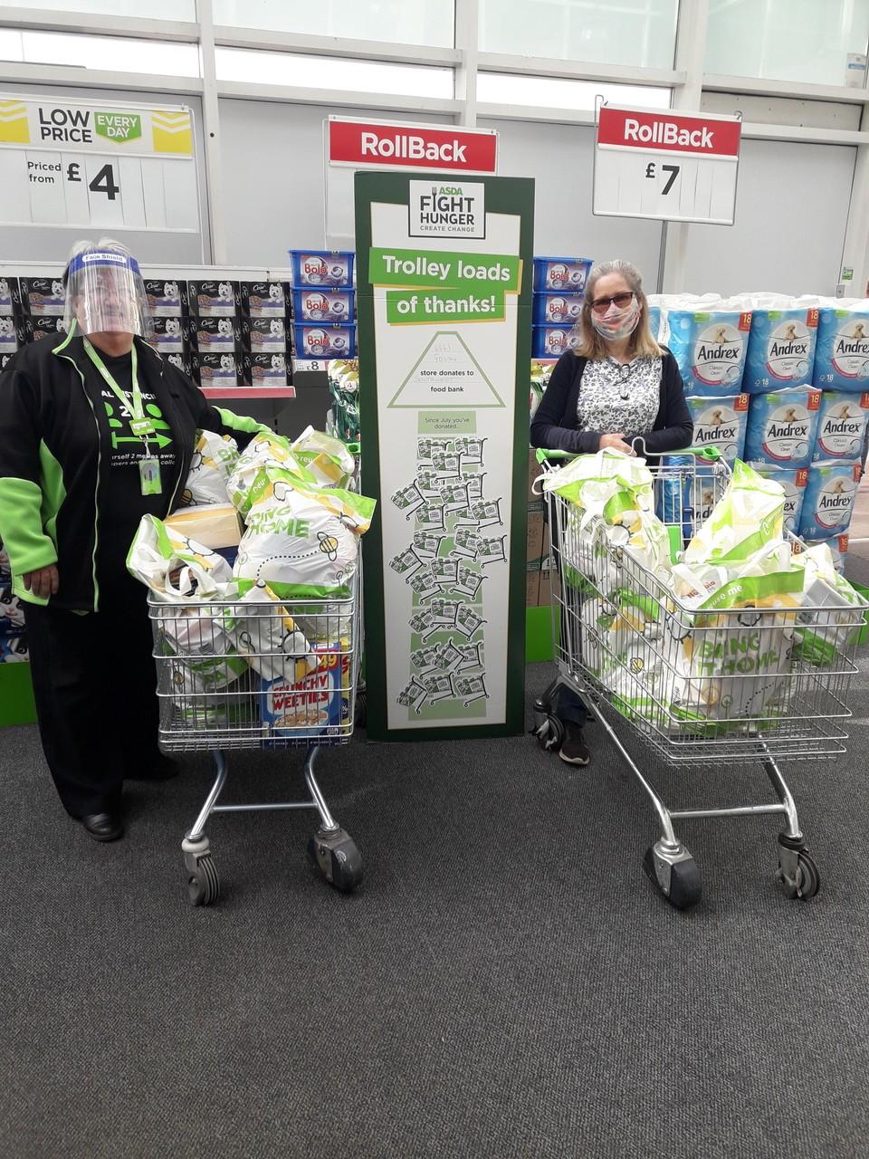 Thanks to Asda Govan customers for supporting local food bank | Asda Govan