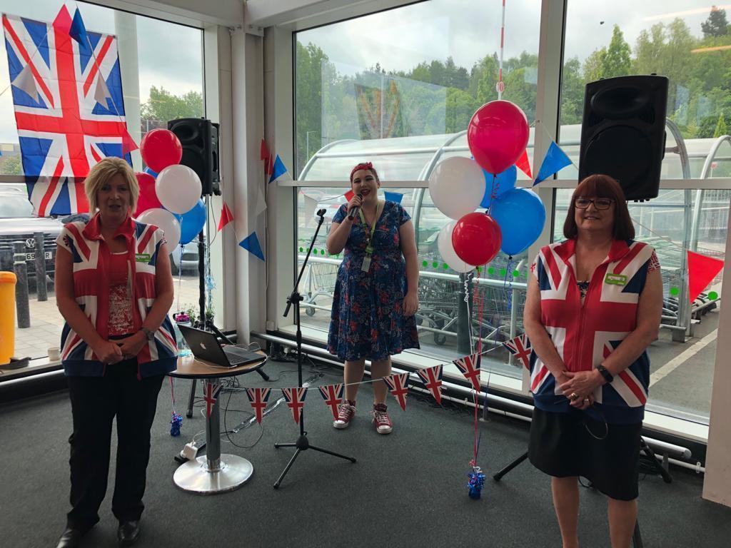 VE day celebrations in Telford | Asda Telford